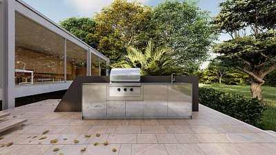 Photo Four myths to dispel about outdoor kitchens: advice from designers