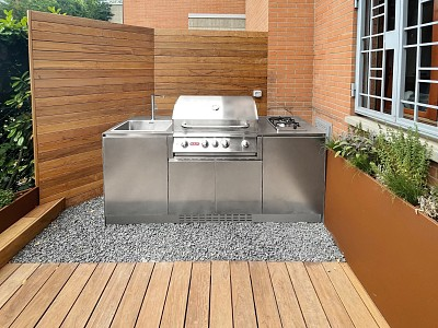 Photo Ideas and recipes for your outdoor kitchen in summer