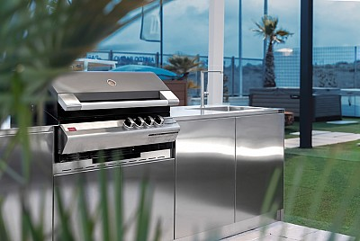 Photo Outdoor kitchens and outdoor furniture: trends for 2021