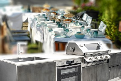 Photo Outdoor kitchens and the winning design for the summer season: here are the summer trends